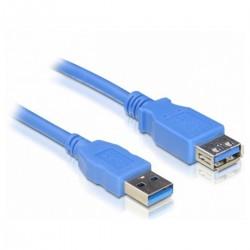 CABLE ALARGADOR USB3.0 NANOCABLE 10.01.0902-BL - CONECTORES A MACHO / A HEMBRA  - 2 METROS