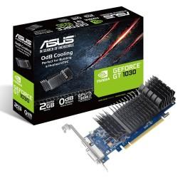 TARJETA GRĮFICA ASUS GEFORCE GT 1030 SL 2GB BRK - GPU 1506MHZ - OPENGL 4.5 - 2GB GDDR5 - PCI EXPRESS 3.0 - DVI-D - HDMI - HDCP
