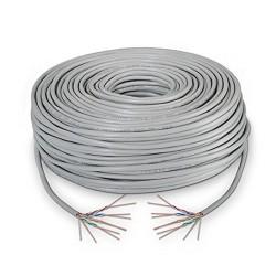 BOBINA DE CABLE NANOCABLE 10.20.0304-FLEX - RJ45 - CAT.5E UTP FLEXIBLE - AWG24 - 305 M