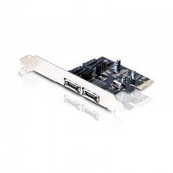 TARJETA PCI EXPRESS SATA 600 CONCEPTRONIC CSATA600EXI - 2X ESATA EXTERNOS + 2X SATA INTERNOS - PROCESADOR ASMEDIA ASM1061