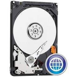 DISCO DURO INTERNO WESTERN DIGITAL SCORPIO BLUE 1TB SATA2 2.5' / 6.35CM 64MB 5400RPM