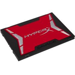 DISCO SÓLIDO KINGSTON HYPERX SAVAGE - 480GB - 2.5' / 6.35CM - SATA3 - VELOCIDAD LECTURA 560MB/S - ESCRITURA 530MB/S