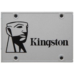 DISCO SÓLIDO KINGSTON UV400 240GB - SATA3 - 2.5' / 6.35CM - LECTURA HASTA 550MB/S - ESCRITURA HASTA 490MB/S