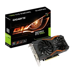 TARJETA GRĮFICA GIGABYTE GEFORCE GTX 1050 TI G1 GAMING 4G - 1366/1480 MHZ - 4GB GDDR5 - 128 BIT - PCIEX 3.0 - DVI-D / DISPLAYPOR