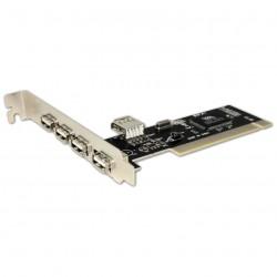 TARJETA APPROX PCI 4XUSB EXTERNOS + 1XUSB INTERNO -APPPCI4PV3