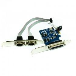 TARJETA PCIE INTERNA A 1XPARALELO + 2XSERIE APPROX APPPCIE1P2S
