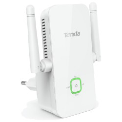REPETIDOR WIFI TENDA A301 - 300MBPS - 2 ANTENAS - COMPATIBLE CON CUALQUIER ROUTER 802.11B/G/N - SOPORTA WEP / WPA / WPA2