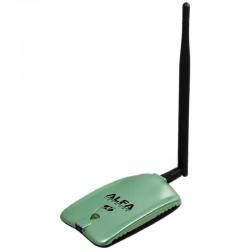 ADAPTADOR USB WIFI 5DBI ALFA NETWORK AWUS036NH - RALINK RT3070 - ANTENA OMNIDIRECCIONAL - USB 2.0 - ESPECIAL AUDITORIAS WIFI