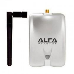ADAPTADOR USB WIFI 2DBI ALFA NETWORK AWUS036H - REALTEK 8187L - ANTENA OMNIDIRECCIONAL - USB 2.0