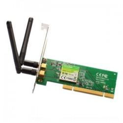 TARJETA DE RED INALĮMBRICA TP-LINK 300MBPS W-N PCI 2 ANTENA EXTERNA