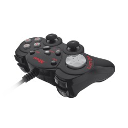 GAMEPAD TRUST GXT 24 - 2 JOYSTICK ANALOGICOS- PANEL DIGITAL 8 DIRECCIONES - 12 BOTONES PROGRAMABLES - DISEŃO COMPACTO - PLUG & P
