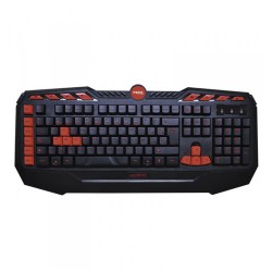TECLADO GAMING APPROX APPDROID - PLUG AND PLAY - 8 TECLAS MULTIMEDIA - 8 TECLAS GAMING - CABLE 140CM - USB