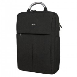 MOCHILA E-VITTA BUSINESS BLACK - PARA PORTĮTILES HASTA 15.4'-16'/39.1-40.64CM - 2 DEPARTAMENTOS INDEPENDIENTES - IMPERMEABLE - C