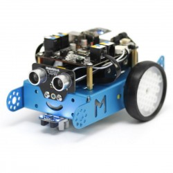 ROBOT EDUCATIVO MBOT SPC MAKEBLOCK - 38 PIEZAS ENSAMBLABLES - MICROCONTROLADOR ARDUINO UNO - PROGRAMACIÓN GRĮFICA - COMUNICACIÓN