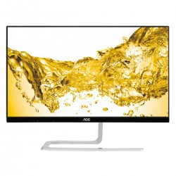 MONITOR LED AOC I2481FXH - 23.8'/60.45CM - 1920X1080 FHD AH-IPS - 16:9 - 250CD/M2 - 50M:1 - 4MS - VGA - HDMI - FLICKER FREE