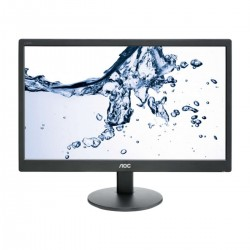 MONITOR LED AOC E2270SWN - 21.5'/54.61CM - 1920X1080 FHD - 16:9 - 200CD/M2 - 20M:1 - 5MS - VGA - VESA 100X100