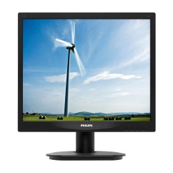 MONITOR LED PHILIPS 17S4LSB - 17'/43.2CM - 1280X1024 A 60 HZ - 5:4 - 5MS - 250CD/M2 - 20M:1 SMARTCONTRAST - 5:4 - TAMAŃO PUNTO 0