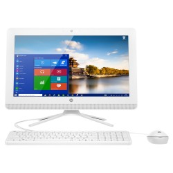 PC ALL IN ONE HP 20-C000NS - AMD QC E2-7110 1.8GHZ - 4GB - 1TB - RAD R2 - 19.5'/49.53CM HD+ - DVDRW - WIFI - HDMI - BT - TEC+RAT