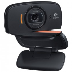 WEBCAM LOGITECH C525 - HD 720p - ENFOQUE AUTOMATICO - FOTOS 8MP - MIC. INTEGRADO - DISEŃO PLEGABLE CON ROTACION - USB - 960-0010