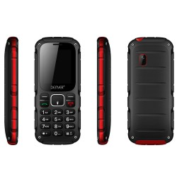 TELÉFONO DENVER WAS-18110M - PANTALLA COLOR 1.77&34/4.49CM - CĮMARA 0.8MPX - FUNCION SMS - RADIO FM - BT - DUALSIM - BAT 500mAh