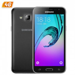 SMARTPHONE SAMSUNG GALAXY J3 NEGRO - 5'/12.7CM - CAM 5/8MPX - QC 1.5GHZ - 8GB - 1.5GB RAM - ANDROID 5.1 - 4G - BT -  BAT 2600mAh
