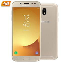 SMARTPHONE SAMSUNG GALAXY J5 (2017) ORO - 5.2'/13.2CM HD - DUAL CAM 13/13MP - OC 1.6GHZ - 16GB - 2GB - 4G - ANDROID - BT - DUAL