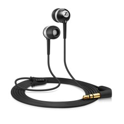AURICULARES INTRAUDITIVOS SENNHEISER CX 300-II PRECISION BLACK - 19-21000HZ - 113DB - JACK 3.5MM - CABLE 1.2M - NEGRO