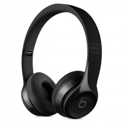 AURICULARES INALĮMBRICOS SOLO3 WIRELESS ON-EAR HEADPHONES - NEGRO BRILLO - MNEN2ZM/A