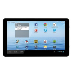 TABLET DENVER TAQ-10242 - QC 1.2GHZ - 1GB DDR3 - 8GB - 10.1'/25.6CM 1024X600 - CAM 0.3MP - WIFI BGN - BAT 4400MAH - ANDROID 6