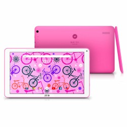 TABLET SPC GLEE 10.1 ROSA - QC A7 1.2GHZ - 1GB DDR3 - 8GB - 10.1'/25.65CM 1024X600- CAM 2MPX/VGA - WIFI - BT - BAT 4000MAH - AND