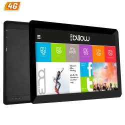 TABLET CON 4G BILLOW X104 NEGRA - QC - 16GB - 1GB RAM - 10.1'/25.65CM IPS 1280X800 - DUAL SIM - ANDROID 7 - CAM 5/8MP - GPS - RA