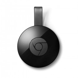 GOOGLE CHROMECAST NEGRO - HDMI - RESOLUCIÓN ESTĮNDAR 1080P - VELOCIDAD STREAMING HASTA 5GHZ